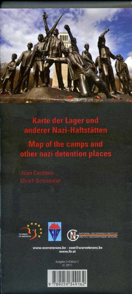 Map of the Camps and other Nazi Detention Places